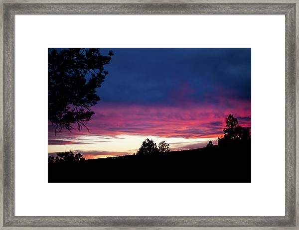 Framed Print featuring the photograph Candy-coated Clouds by Jason Coward