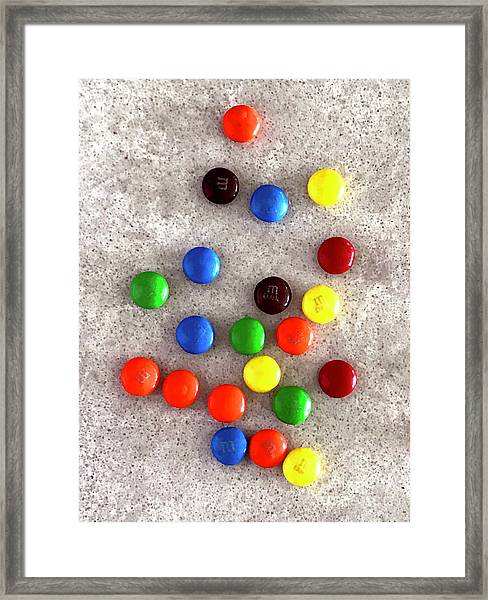 Candy Counter Framed Print