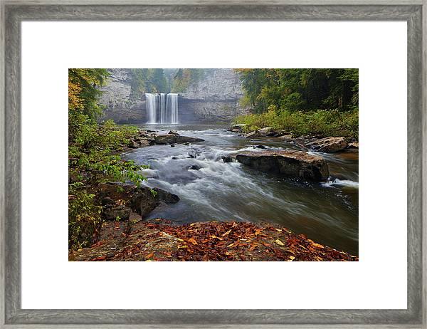 Cane Creek Falls Framed Print