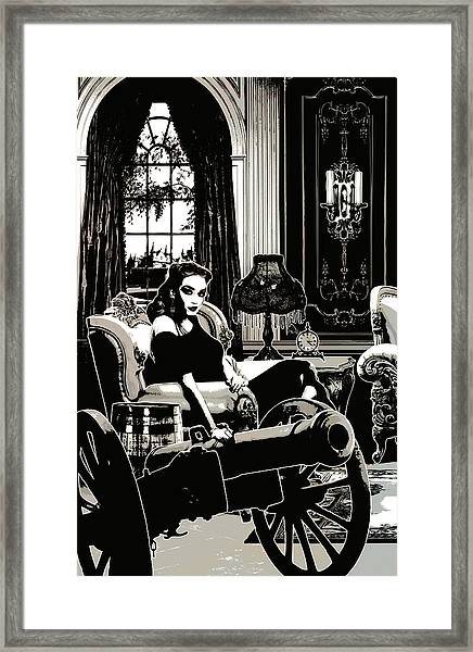 Cannon Framed Print