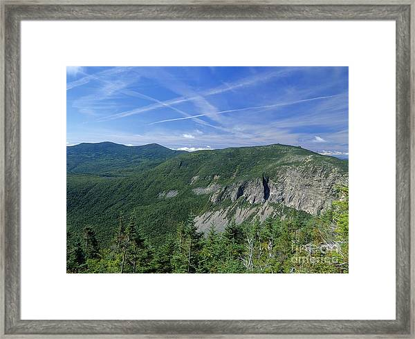 Cannon Mountain - White Mountains New Hampshire Usa Framed Print