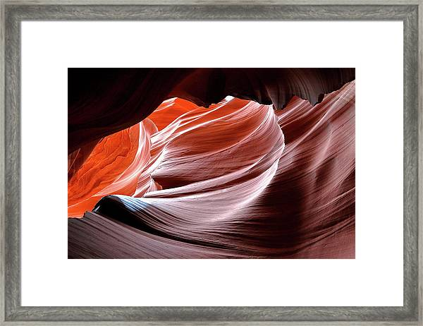 Canyon Abstract 2 Framed Print