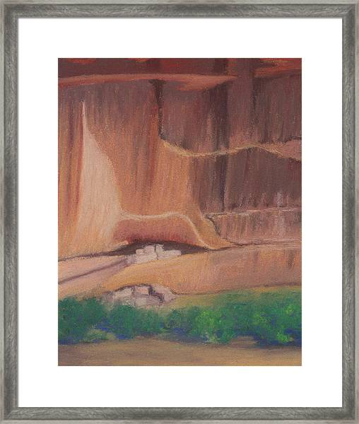 Canyon De Chelly Cliffdwellers #2 Framed Print