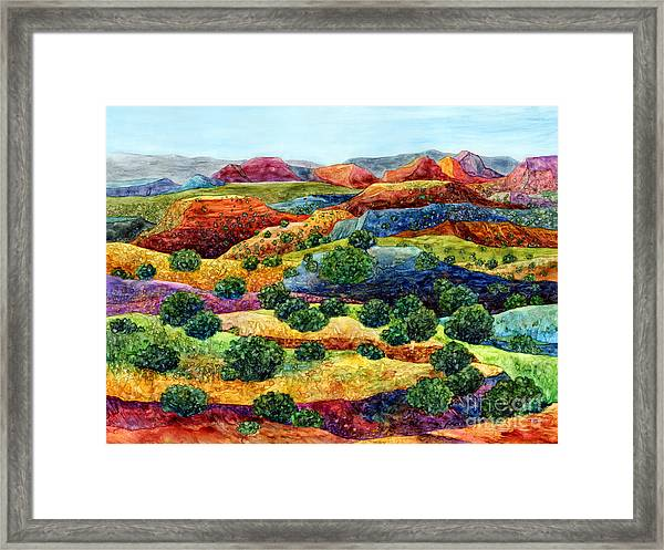 Canyon Impressions Framed Print