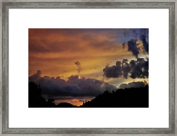 Canyon Sunset Framed Print