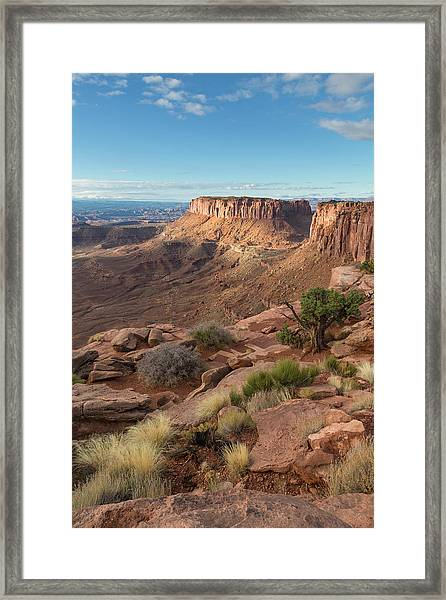 Canyonlands View Framed Print