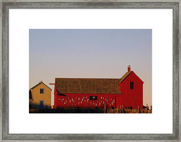 Cape Ann Motif Number 1 Framed Print by Juergen Roth