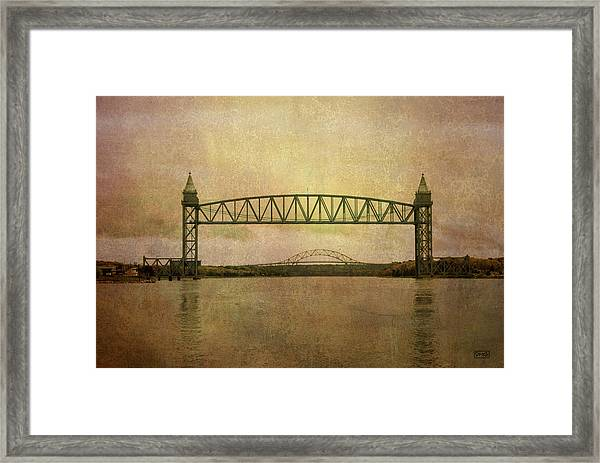 Cape Cod Canal And Bridges Framed Print