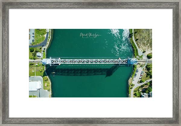 Cape Cod Canal Railroad Bridge Framed Print