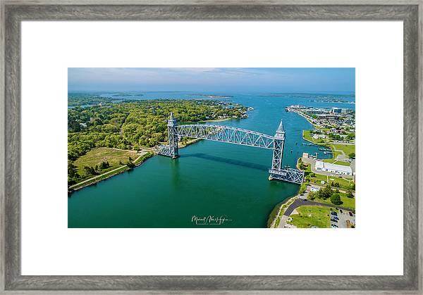 Cape Cod Canal Railroad Framed Print