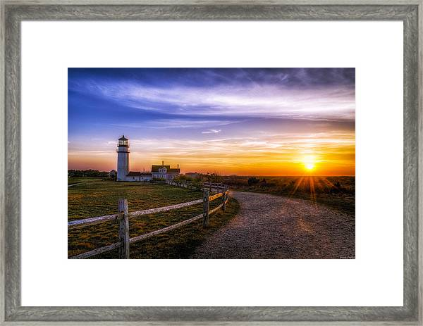 Cape Cod Light Framed Print
