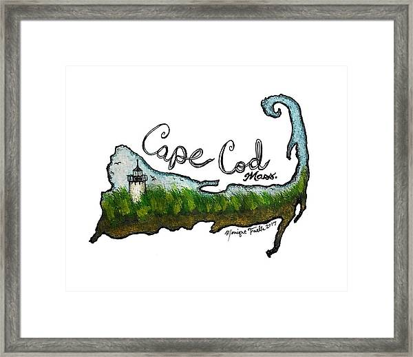 Cape Cod, Mass. Framed Print