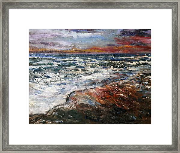 Cape Cod Sunset 1 Framed Print