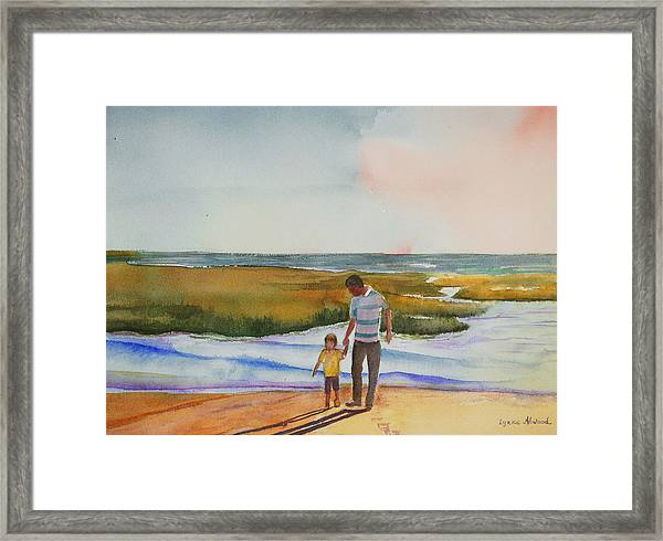 Cape Cod Sunset Framed Print