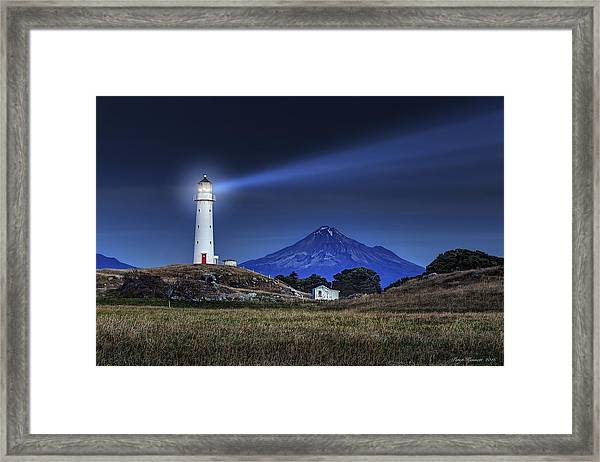Cape Egmont Framed Print
