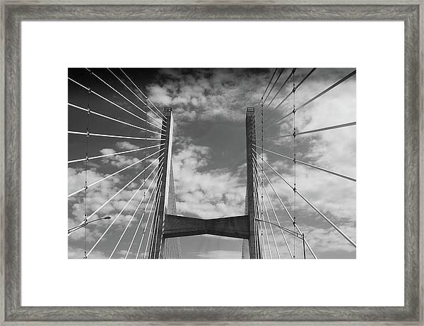 Cape Girardeau Bridge Framed Print