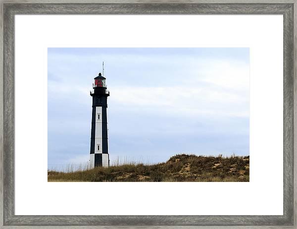 Cape Henry Lighthouse Framed Print