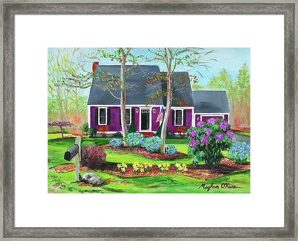 Cape House Framed Print