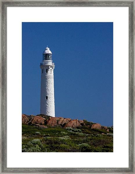 Cape Leeuwin Light House Framed Print