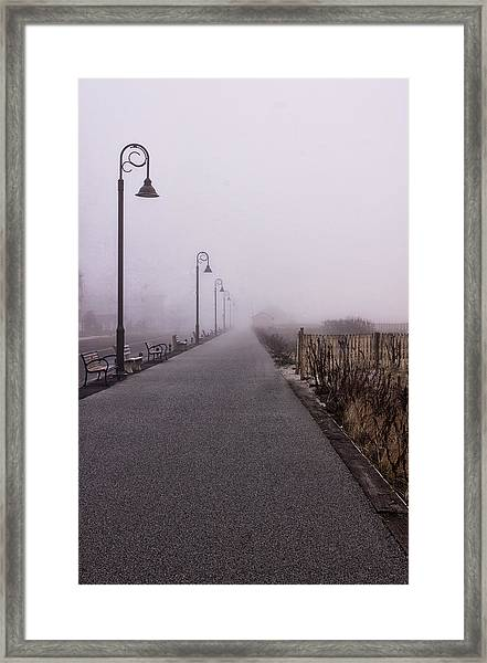 Cape May Fog Framed Print