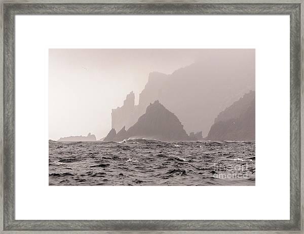 Cape Raoul Framed Print