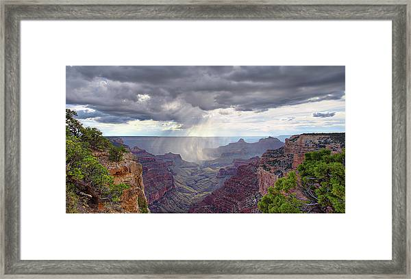 Cape Royal Squall Framed Print
