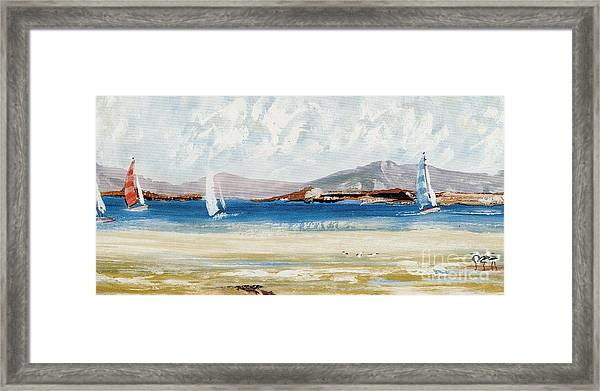 Cape Sailing Framed Print