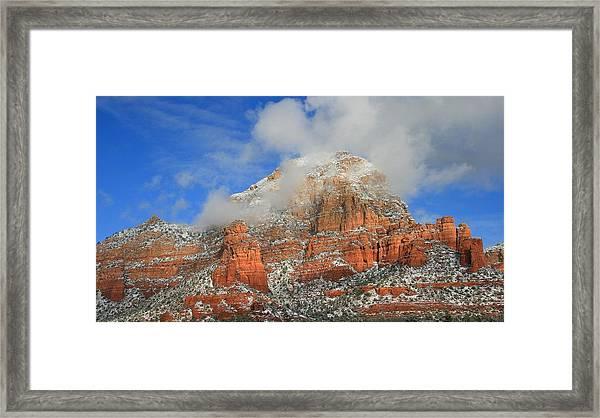 Capitol Butte Framed Print