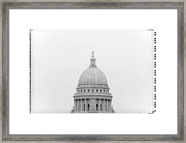 Capitol Cloud Framed Print