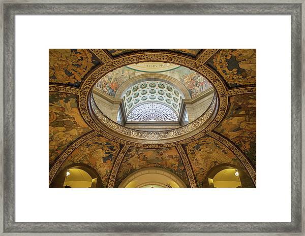Capitol Dome No. 37 Framed Print