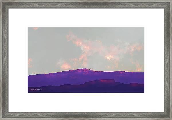 Capitol Reef Framed Print