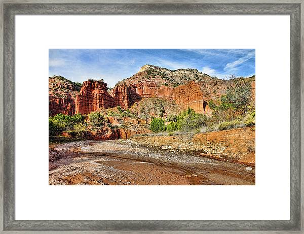 Caprock Canyon Framed Print