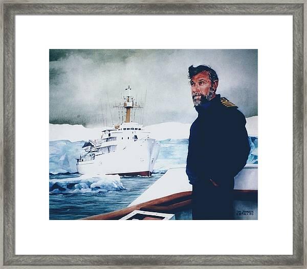 Capt Derek Law Framed Print