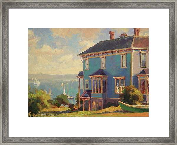 Captain's House Framed Print
