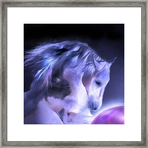 Captured Framed Print