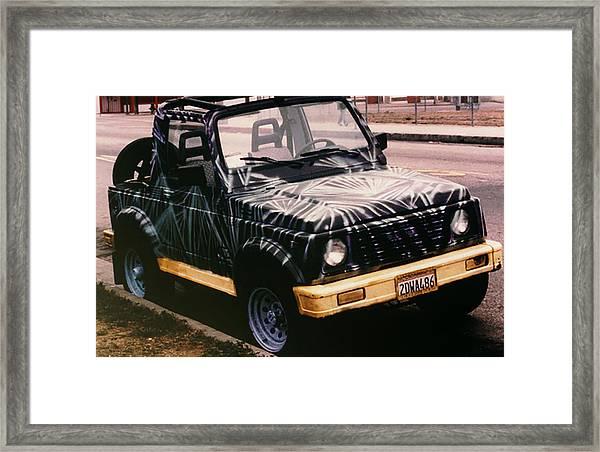 Car Art Framed Print
