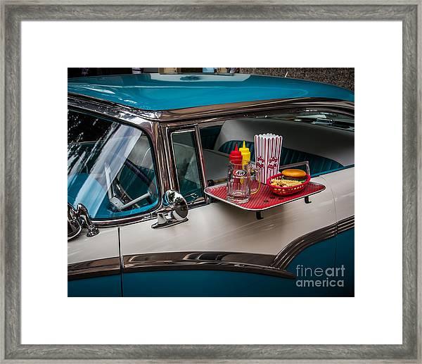 Car Hop Framed Print