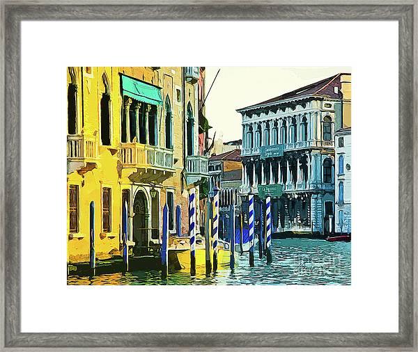 Ca'rezzonico Museum Framed Print