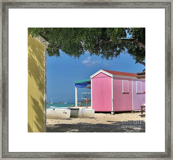 Caribbean Days Framed Print
