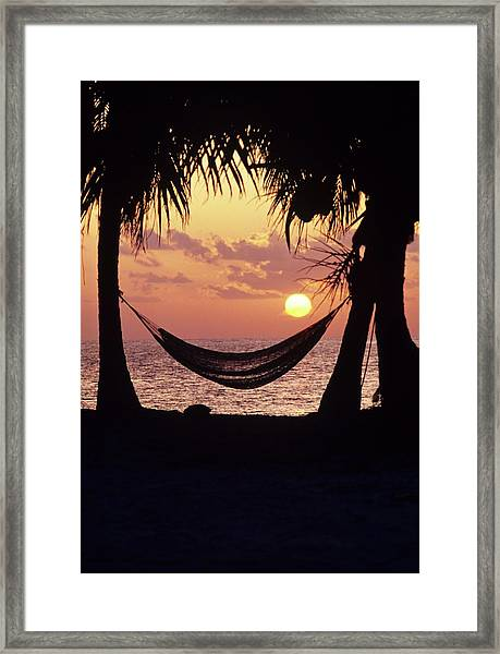 Caribbean Interlude Framed Print