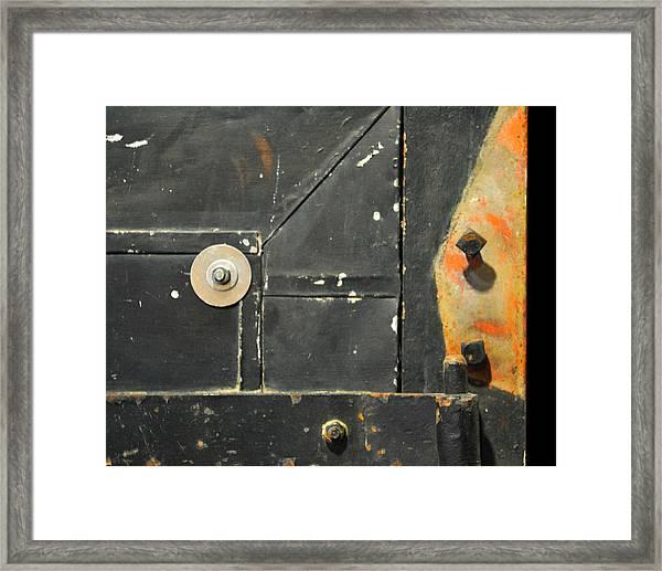 Carlton 10 - Firedoor Detail Framed Print