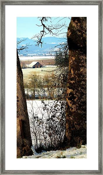 Carlton Barn Framed Print