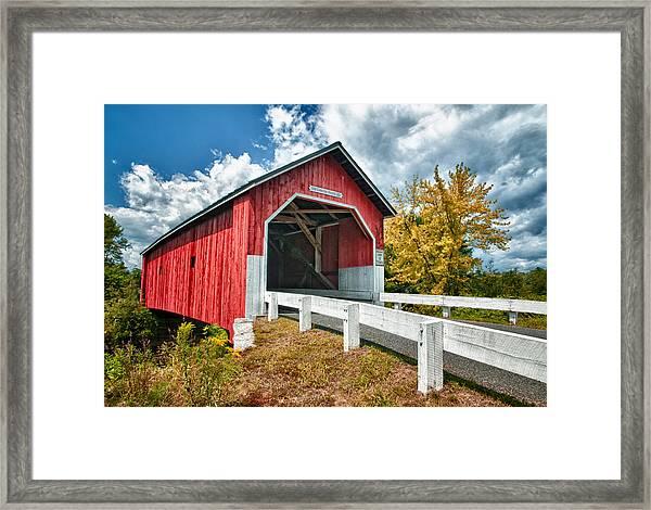 Carlton Bridge Framed Print