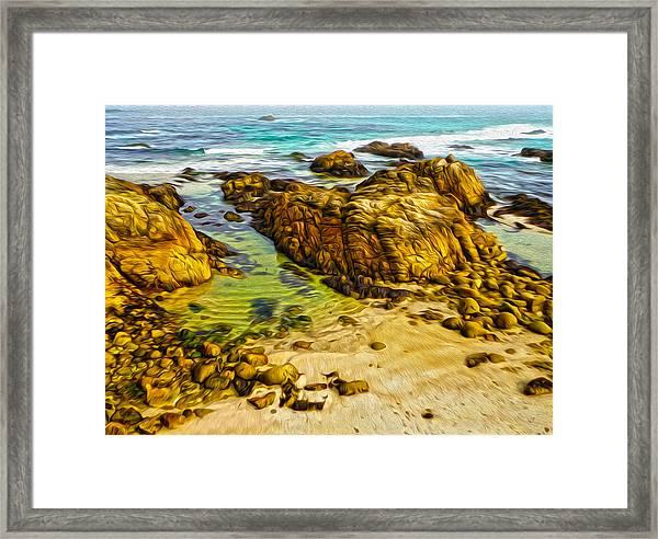 Carmel California - 07 Framed Print