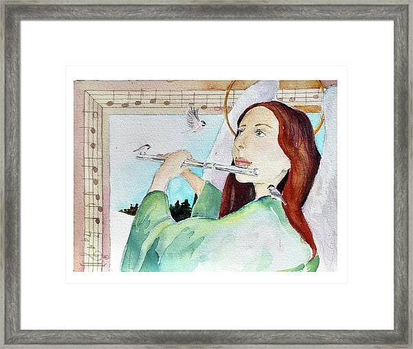 Carol Of The Birds Framed Print