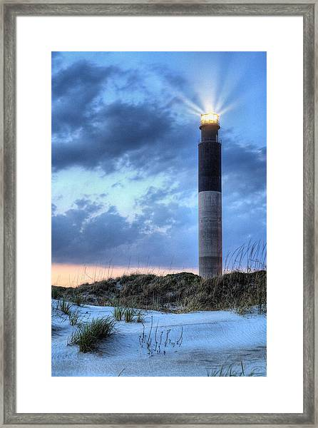 Carolina Perfect Framed Print