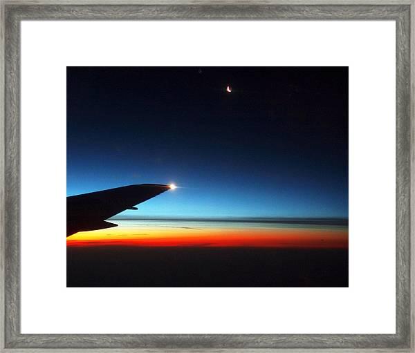 Carolina Sunrise Framed Print