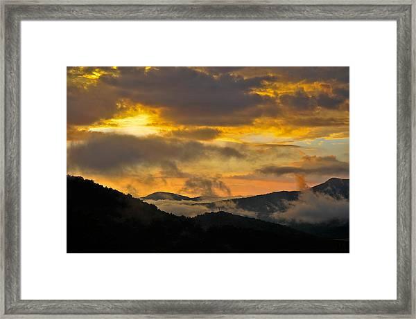 Carolina Sunset Framed Print