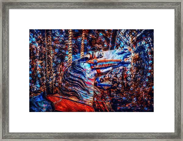 Carousel Dream Framed Print