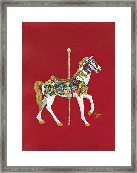 Carousel Horse #2 Framed Print